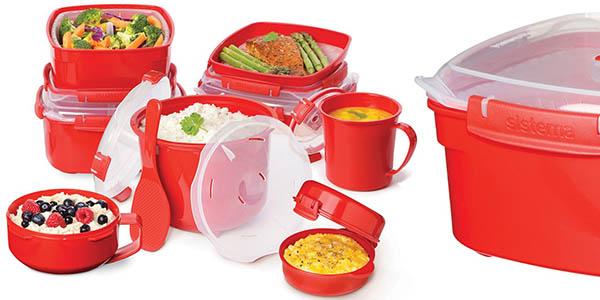 practica olla a vapor para microondas sistema microwave cocina sana