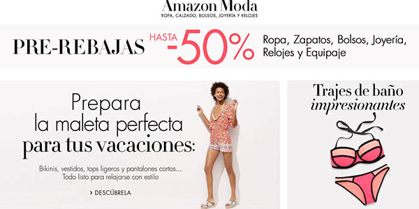 pre-rebajas amazon primeras marcas de moda verano 2016
