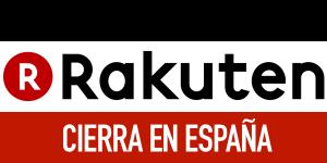Rakuten cierra en España