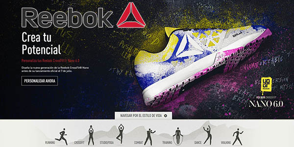 reebok envio gratis junio 2016 tienda online