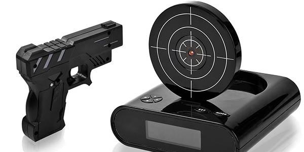 reloj alarma con sensor pantalla led