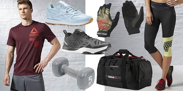 ropa deportiva zapatillas reebok descuento envio