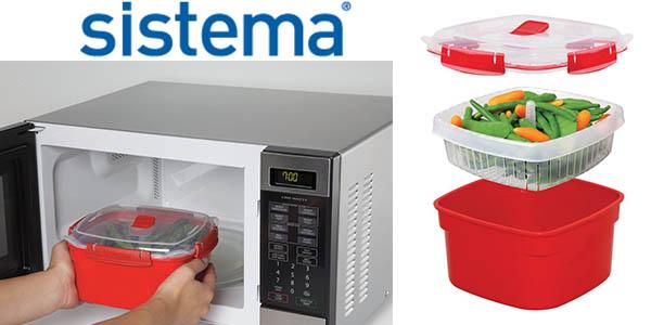 sistema microwave olla para cocinar al vapor en microondas barata