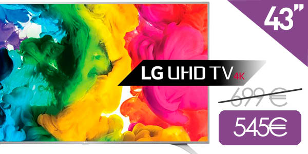 Smart TV LG 43UH650V