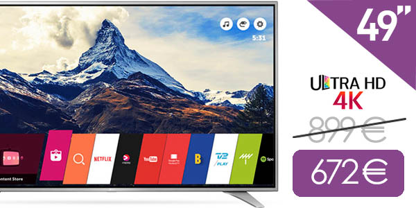 TV LED LG 49UH650V Smart TV