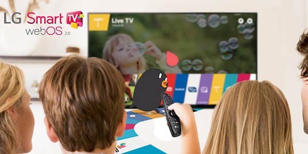 Smart TV LG 55UF840V UHD 4K webOS 2.0