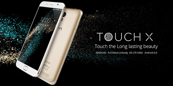 UMI Touch X color champagne