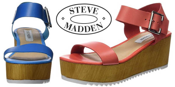 steve madden nile sandalias plataforma para mujer baratas