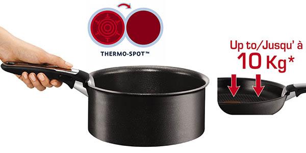 tefal ingenio talent l3209402 set sartenes ollas induccion para todo tipo fuegos horno nevera lavavajillas