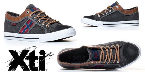 xti zapatillas nordic gris baratas