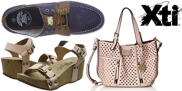 Xti zapatos y bolsos baratos en Pre-rebajas de moda Amazon verano 2016