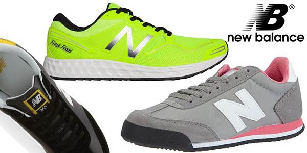 zapatillas new balance running y casual baratas amazon pre-rebajas verano 2016