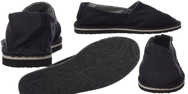 zapatillas de verano quiksilver negras chill xkks pre-rebajas moda amazon verano 2016