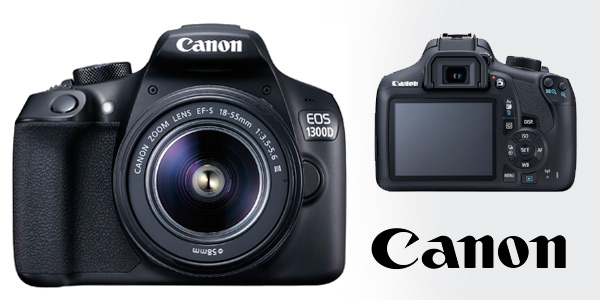 Canon 1300D + EF-S 18-55 DCIII