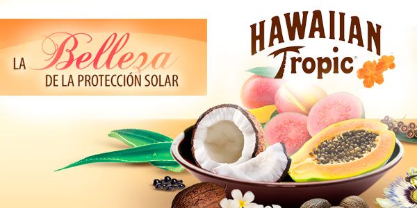 Hawaiian Tropic locion solar oferta