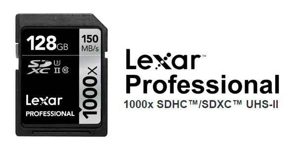 Tarjeta Memoria Lexar SDXC 128GB