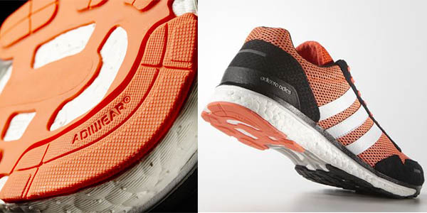 adidas adizero adios 3 running boost suela continental