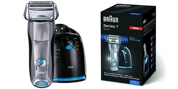 Afeitadora Braun Series 7 790cc-4 con Clean & Charge