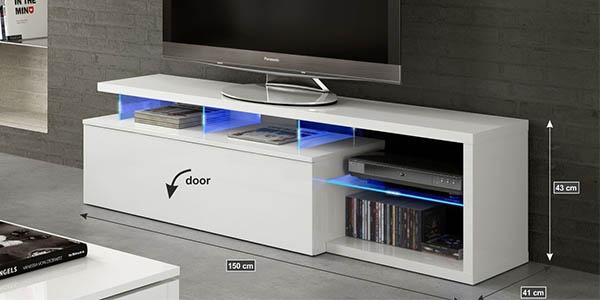 aparador tv video estantes puertas relacioncalidad precio