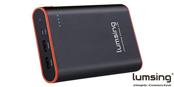 Batería portátil Lumsing 13.400 mAh