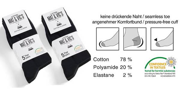 calcetines algodon set 10 unidades barato