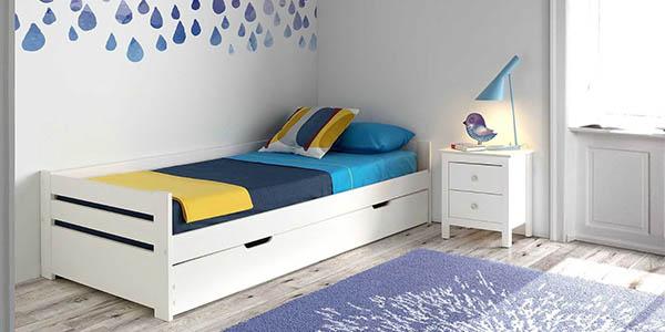 cama nido con arcon y somier individual gran relacion calidad precio