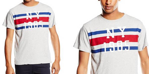 camiseta basica tommy hilfiger basic slub
