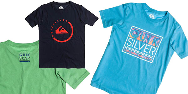 camisetas niño quiksilver precio brutal