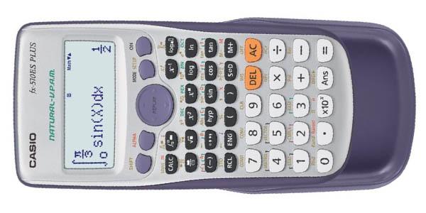 casio calculadora fx-570es plus para bachillerato carreras ingenieria fisica