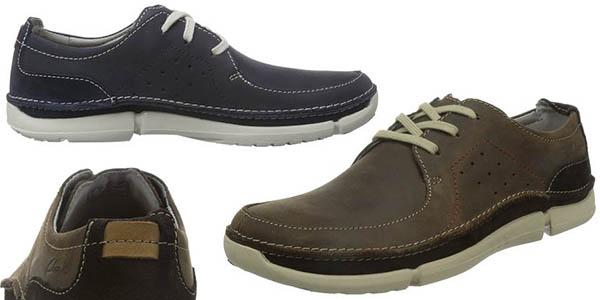 clarks trikeyon fly zapatos hombre relacion calidad-precio brutal