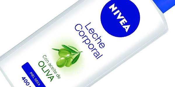 crema corporal nivea aceite oliva 400 ml a precio brutal