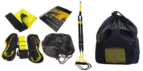 cuerdas suspension ejercicios fitness lihao baratas