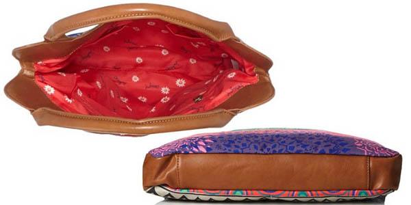 desigual cordoba happy bazar bolso para mujer con compartimentos