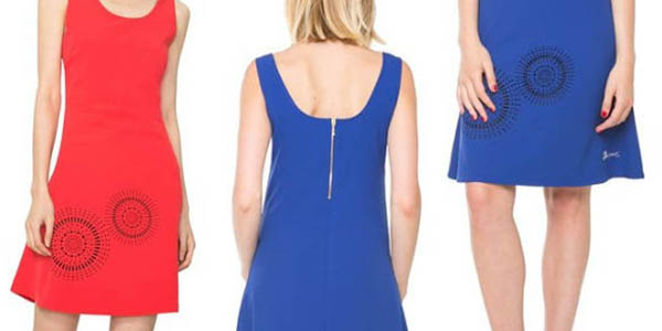 desigual vestido barceloneta modelo vestir verano mujer varios colores