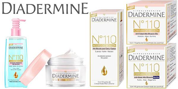 diadermine Nº110 cremas faciales para dia noche efecto antiarrugas a precios brutales