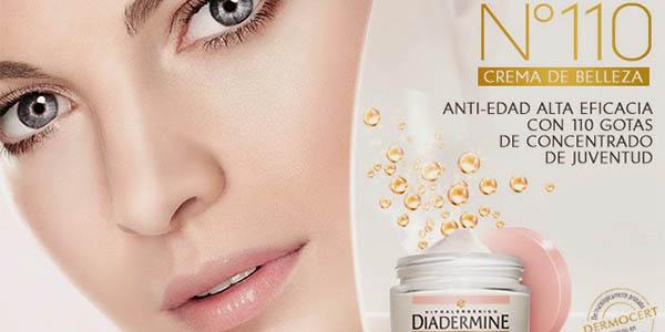 diadermine Nº110 cremas faciales efecto juventud hidratantes baratas