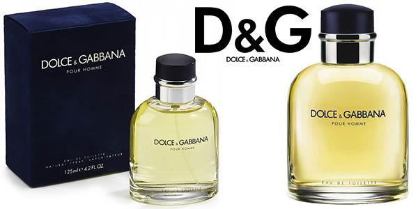 dolce gabbana pour homme 125 ml vaporizador barata
