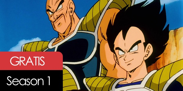 Dragon Ball Z temporada 1 gratis