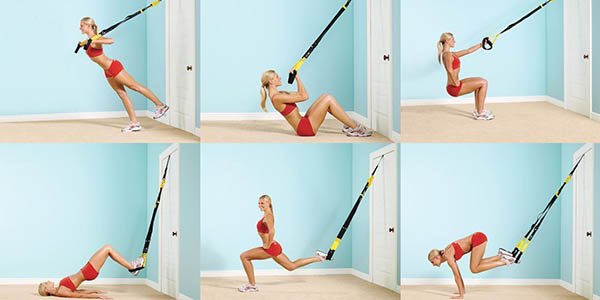 practicar ejercicios gimnasio en casa cuerdas suspension a precio brutal