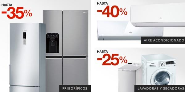 ofertas en electrodomésticos El Corte Inglés