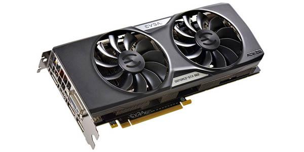 EVGA GeForce GTX 960 SuperClocked ACX 2GB GDDR5 barata