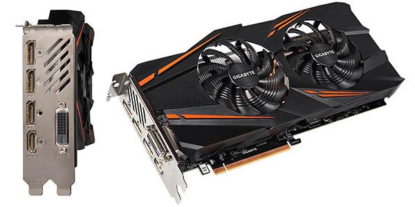 Gigabyte GeForce GTX 1070 WindForce OC 8GB GDDR5 barata