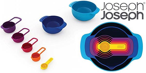 joseph joseph nest 7 plus utensilios apilables para mezclas de reposteria barato