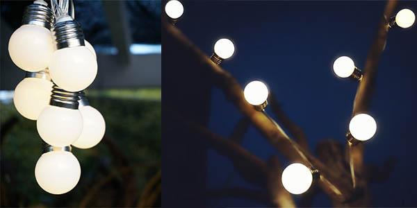 led exterior iluminacion balcon jardin