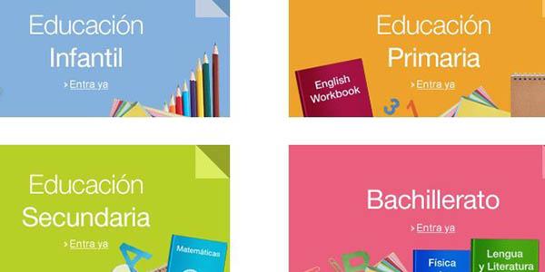 libros de texto infantil primaria secundaria bachillerato ofertas
