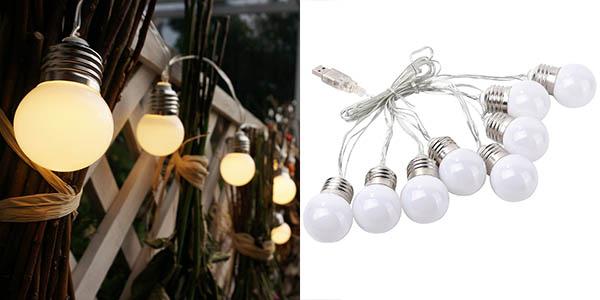luces decorativas led exterior baratas