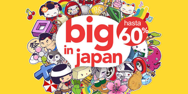 ofertas PS4 Big In Japan julio 2016