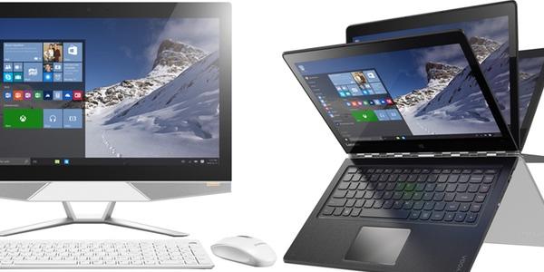 15% de descuento ordenadores y portátiles Lenovo