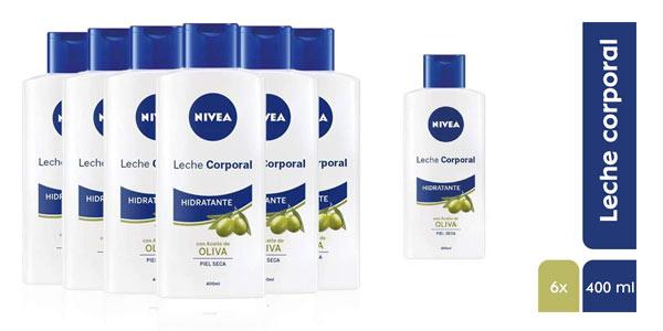 Pack de Leche corporal Nivel con aceite de oliva barato en Amazon