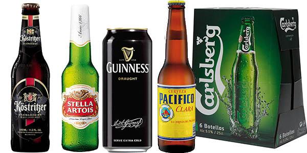 packs cerveza descuento El corte ingles